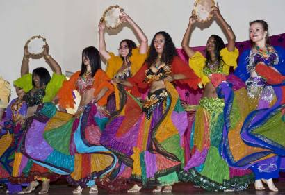 Colourful Bellydancers Claude Felbert Photography Cape Town