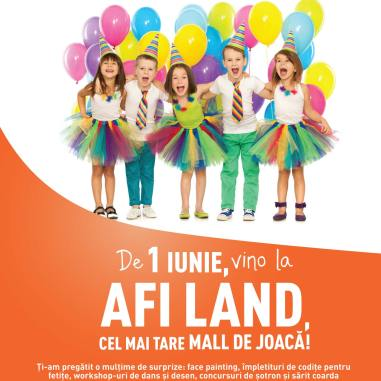 Ziua Copilului-AFI Palace Cotroceni