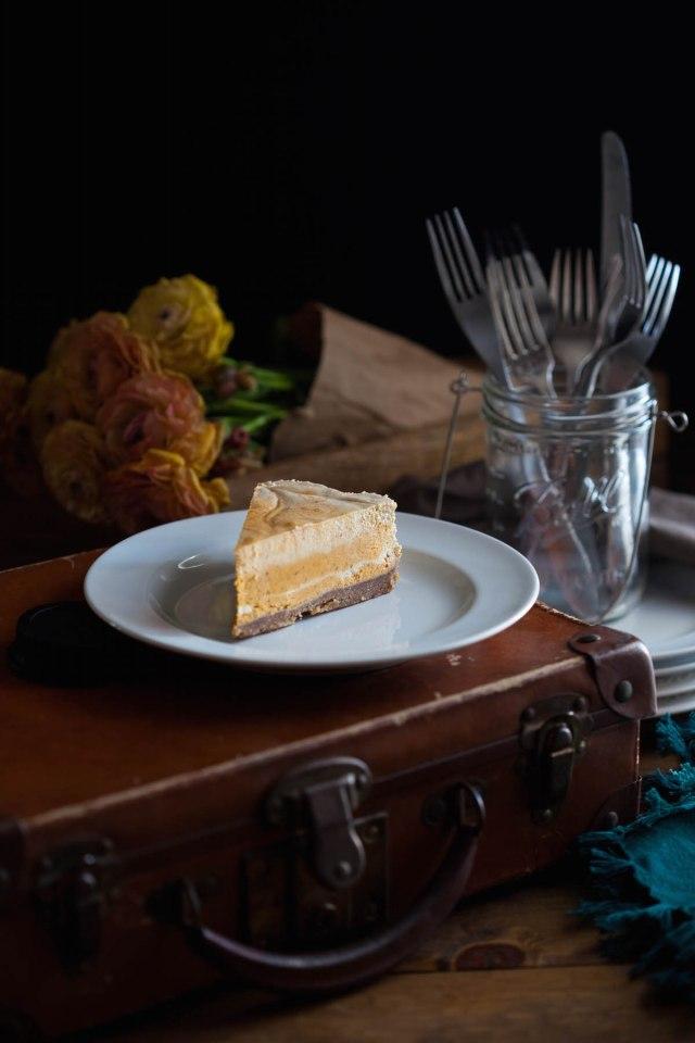 Pumpkin Swirl Cheesecake 4