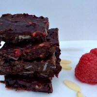 Recipe: Dark Chocolate Raspberry Almond Bark with Sea Salt