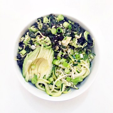 all green noodles :: clean food dirty city (gluten free, vegan)