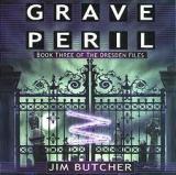 "<span class=""item""><span class=""fn title-book"">GRAVE PERIL</span><span class=""title-author""> by Jim Butcher</span></span>"