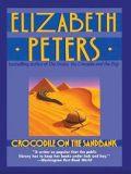 "<span class=""item""><span class=""fn title-book"">CROCODILE ON THE SANDBANK</span><span class=""title-author""> by Elizabeth Peters</span></span>"