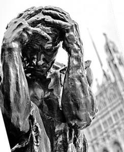 Rodin: Les Bourgeois de Calais detail