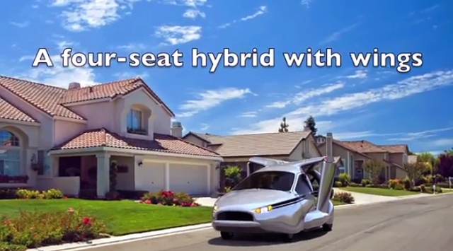Have You Ever Wanted a Flying Car? (Video)