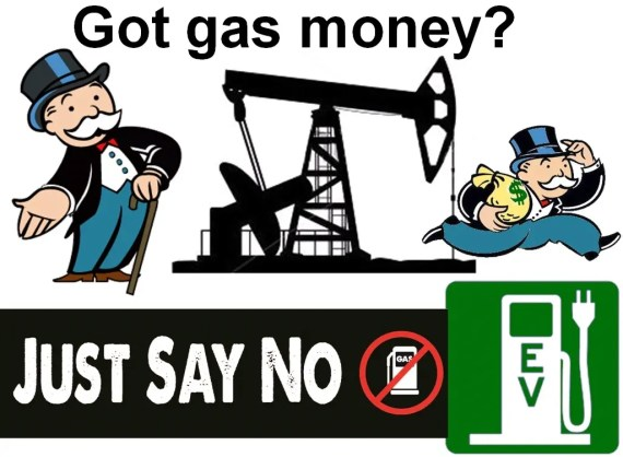 Bumper Sticker - Got Gas Money, Just Say No