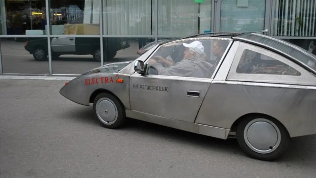 driving in Electra 2