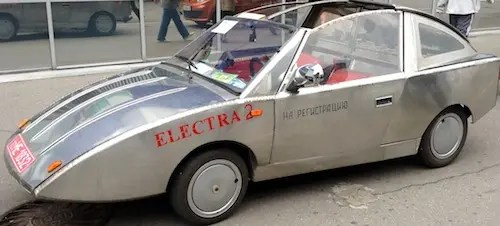 electric car handmade