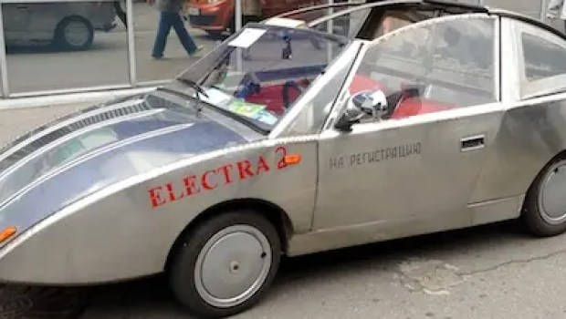 electric car handmade