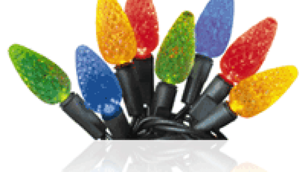 LED holiday lights EStar EPA