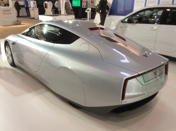 VW XL1 Back