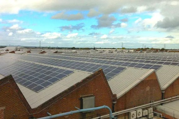 UK rooftop solar courtesy of DECCC.