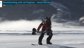 electric snowboarding