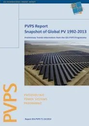 International Energy Agency IEA