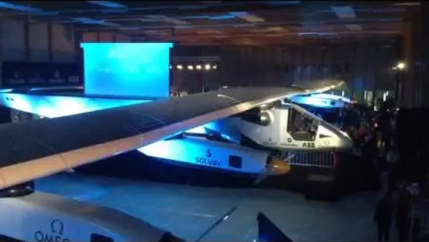 Solar Impulse 2, Solar Electric Plane That Will Fly Around World (Exclusive Videos)
