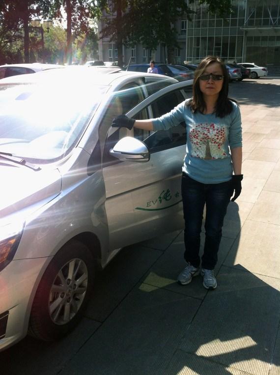 EV rental Beijing 2