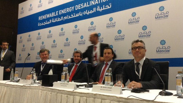 Water Desalination Renewable Energy Masdar 4