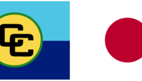 Caribbean Community-Japan Flag