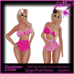 Jelly Summer Lovin Pink Ad