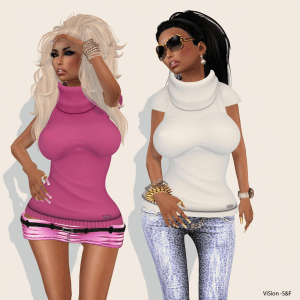 {ViSion} - S&F - Sweater Mesh W_ Lolas - pic