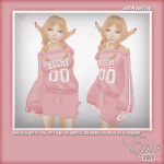 _Epic_ Ecchi 00 Sporty Set {Baby.Pink} Ad