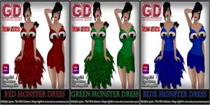 GD Beauty Pageant Exclusives-compilation Monster Dress