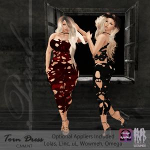 Perch - TornDressAD512