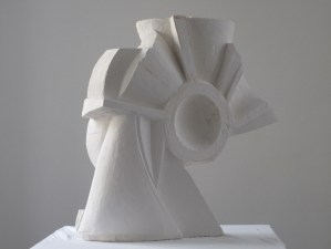 Carved Plaster for Bronze Scupture