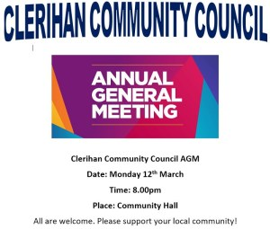 Clerihan Community Council AGM Amend