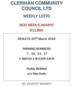 Lotto 20032018