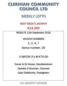Lotto 11092018