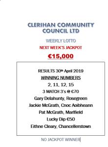Lotto 30042019