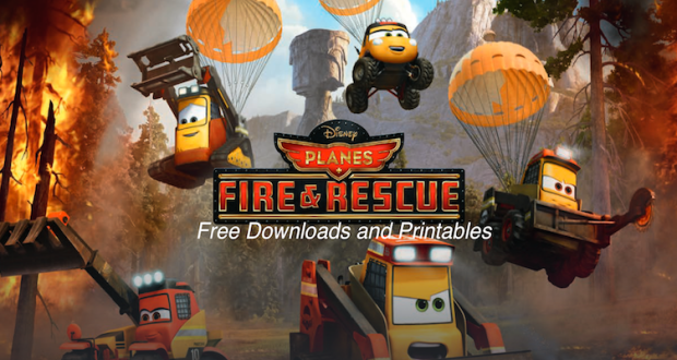 Planes Fire & Rescue Free Downloads and Printables