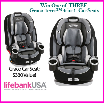 giveaway learn more about lifebankusa and win a graco car seat. Black Bedroom Furniture Sets. Home Design Ideas