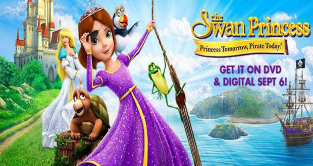 DVD Giveaway – The Swan Princess: Princess Tomorrow, Pirate Today