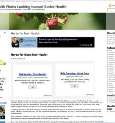 Sample WordPress site
