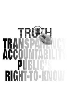 Transparency, Accountability and Your Pocket book!