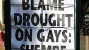 Rain on the Gay Parade…