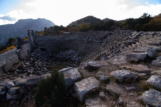 The theatre at Termessos