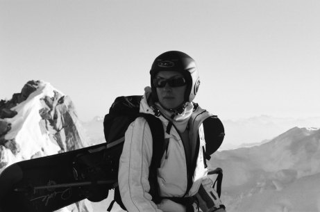 Training Snowboarding MontBlanc
