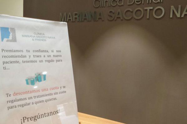 Ortodoncia Invisible Barcelona Clinica Mariana Sacoto Navia premiamos tu fidelidad