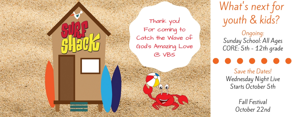 Thank you to all who attended VBS 2016