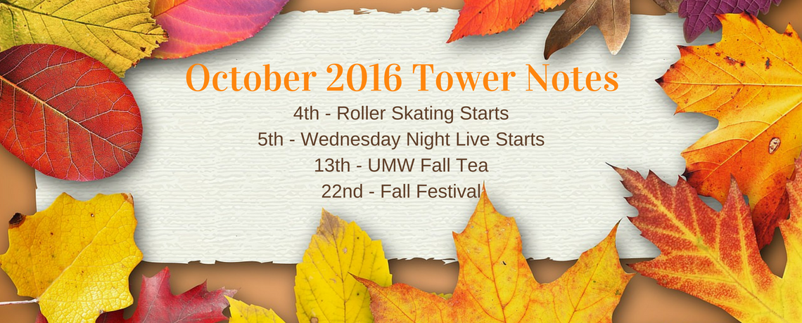October 2016 – Tower Notes