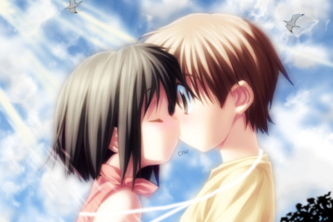 Cute Cartoon Couple Wallpapers For Mobile Babangrichie Org