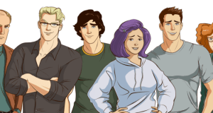 Coming out on top is a gay visual novel dating sim that was funded on Kickstarter