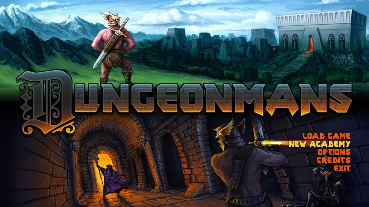 Dungeonmans, A Classic Turn-Based RPG