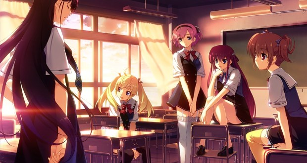 The Grisaia Trilogy is a visual novel being released by Sekai Project that's smashed its $160k Kickstarter in less than 24 hours.