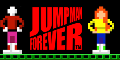 Jumpman Forever is a revival of the classic Jumpman game that was funded on Kickstarter.