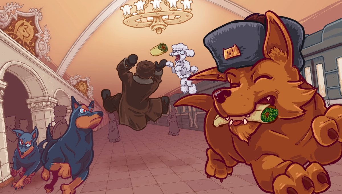Stealing Food and Avoiding Explosive Vodka In Russian Subway Dogs
