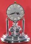 Kern Miniature 400 Day Clock, Nickel Plated